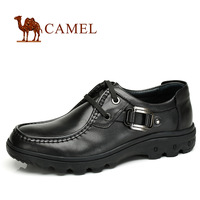 2014 Men's Camel Casual Male Genuine Leather Fashion Shoes Male British Style Boardskating Shoes