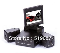 world's first dual lens car camera recorder 120 ultra-high definition wide-angle H3000 car black box,Free Shipping
