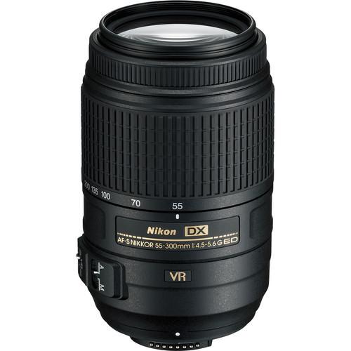 Nikon AF-S 55-300mm f/4.5-5.6G ED VR Zoom Lens Nikkor lenses for Nikon D3000 D3100 D3200 D60 D5000 D5100 D90 D7000 Dslr cameras(China (Mainland))
