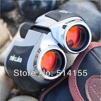 Wholesale  Nikula8 x21binocular telescope hd/pocket  vision binoculars children watch concert telescope 131M/1000M free shipping