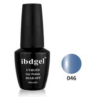 12 Pcs Black IBD Gel color UV Gel Nail Polish The best quality nail gel for nail art   nail tools