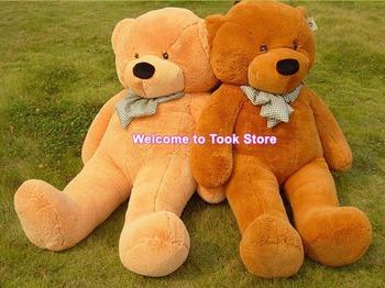 Free DHL/EMS 2pcs 80CM unfilled teddy bear skin empty Teddy bear plush toy coat Valentine's Day lover birthday gift kid boy girl