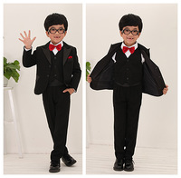 free shipping good quality boy's suit for wedding  children's formal suit Performing a suit six sets
