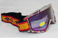 Free Shipping Double Lens Polarized Anti Fog Windproof Ski Goggles UV400 Protection Europe Style Logo Snow Glasses Grey Frame
