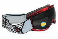 Free Shipping Double PC Lens Polarized Anti Fog Windproof Ski Goggles UV400 Protection Europe Snow Glasses Red Frame Men Women