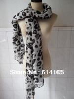 Free shipping sale 90% Spring 2014 Scarf  Shawl Desigual Brand Women Leopard Print Scarf