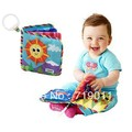 Free Shipping Lamaze Hange Bed Cloth Book  Exploration early Educational book for baby(China (Mainland))