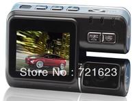 Car DVR K7000B  Sensor 720P with 2.0 Inch LTPS 120 Ultra Wide A + IR Night Vision Car Camera ,Free Shipping