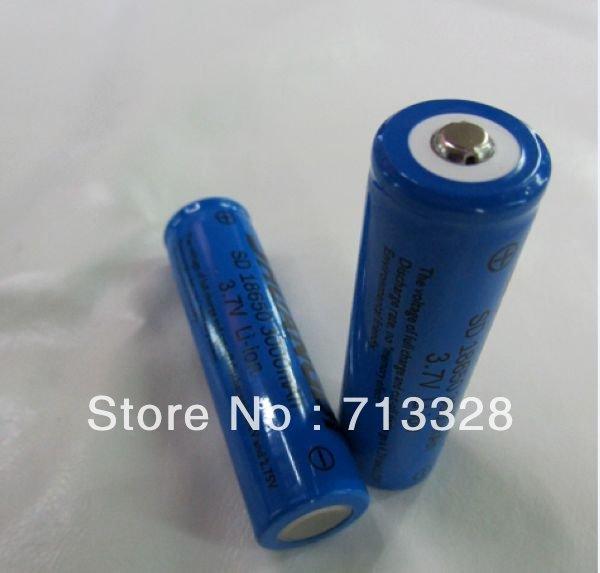 Аккумулятор 30pcs/ultrafire 18650 li/ion 3.7V 3800mAh LED