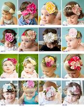 wholesale elastic flower headband