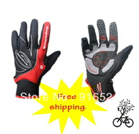 FREE SHIPPING For Mou Ntainpeak Thermal Windproof Winter Ride Gloves Whole Bicycle Mountain Bike
