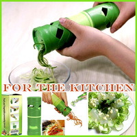 2013 new fruits and vegetables tornado knife slice machining the cutter unit kitchenware tool kitchen utensils