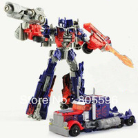 17cm Optimus Prime 3C Domestic Voyager Robot Dark of the Moon Action Figures boy's birthday toy WIthout original box