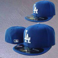 Cap hiphop hip-hop baseball cap bboy hiphop flat brim cap dodger blue