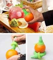 Tap The Flavor New Lemon Juice Hand Juicer,Citrus Spritzer Sprayer Stem,2pcs/set(large + samll)