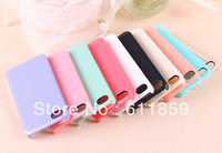 Free Shipping White Blank Hard Cell Phone Case For iPhone 5 5GOr iPhone 5 5G 100PCS/LOT 10 different colors