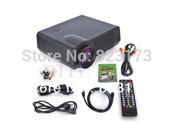 Free Shipping acto Android 4.0 LCD Portable Proyector Beamer 1280x800 Full HD TV wifi LED Video Game home theater Projector