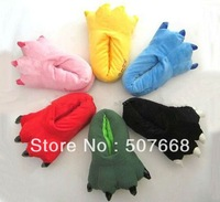 New arrivals ! Variety of animal paw shoes that equiped for animal pajamas,Stitch slippers for home use ,Free Shipping