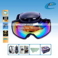 HD 720p Ski Sport glasses video camera Goggles skiing Sunglasses video recorder lense Free Shipping