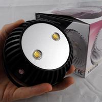 3800mW 2.5 Inch Indoor LED Light black Duai-Array IR Dome Illuminator for camera for shipping