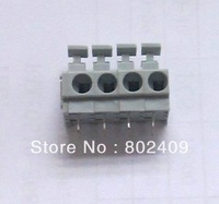 88pcs/lot 4P KF235 3.81 or 5.0 mm Pitch PCB Spring Terminal Block connector 250V/10A, Free shipping