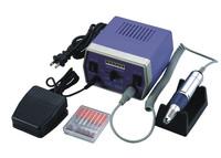 Complete Electric Nail Drill Kit Set Art File Bit Acrylic Manicure Pedicure Band