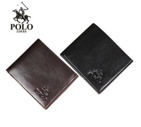 New Fashion Mens POLO Leather Totes Clutch Handbag Shoulder Bag Purse Wallets Free Shipping