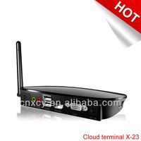 X-23 Call center mini pc thin terminal ARM-A10 ,Embedded linux 2.6 audio pc ARM FL512 XCY