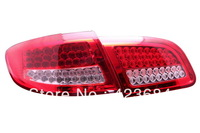 led rear lights for hyundai santafe/ led tail lights for santafe/ red+white / beautiful