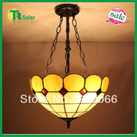 Free Shipping Tiffany Pendant Lamp European Rural Red Maple Leaves Droplight For Living room, Kitchen,Coffee shop,ect