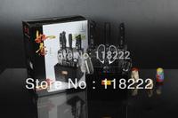 EMS Fress Shipping.China Famous Trademarks.9PCS  SHIBAZI KITCHEN KNIFE SET !!Recommend!!
