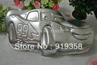 2015 Racing Car Shaped Cake Pans Baking Dishes Tin Decoration Tool Metal Cake Mould Cake Baking Pan Free Shipping