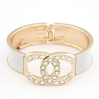 free shipping hotsale in 2013 gold bangle bracelet for women size 63*58*28mm