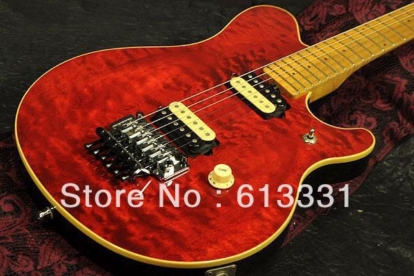 best Vintage nice Guitars New TEL Signature Electric Guitar 3TS(China (Mainland))