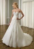 2013New White/ivory Wedding Bride Princess Dress ball Gown Size Custom