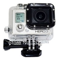 Waterproof Replacement Housing Box Protective Case 45M Depth Water Resitant For Gopro 3 Hero3 accessories for Hero3+