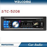 STC-5208 1 DIN Car DVD Player Car MP3 Player Am/FM Radio (12AM/18FM) RDS System (PI/PS/AF/TP/TA/PTY)