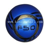 wholesale 8 slices f50  PVC Soccer Balls Size 5,2013 Machine Sewing promotion soccer ball,machine sewing football #2