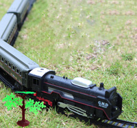 Free Shipping Lionel Polar Express Train Set Harry Potter steam train with rail way 100 cm best gift for kid original package
