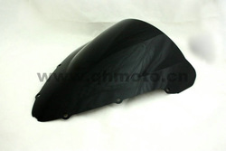 Free Shipping Black Motorcycle Windshield WindScreen CBR600F 01-07 F4I 01-07(China (Mainland))