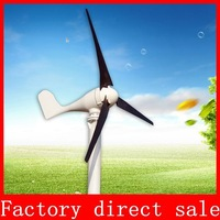 FREE SHIPPING 600W Max  Wind Generator Power Turbine Generator  12/24V  With High Quality CE ISO9001 Certification 3 Blades