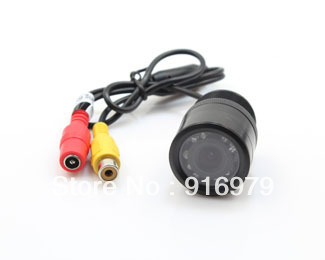9 LED Night Vision Car Rear View Reversing Camera C-R28 28mm with 120 Degree Waterproof Pre-wired rearview camera(China (Mainland))