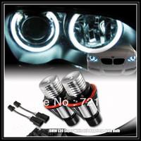 Free Shipping New 12V 6W LED Marker Car Angel Eyes Bulb for  E39 E53 E61 E64 E65 E66 E87 2355