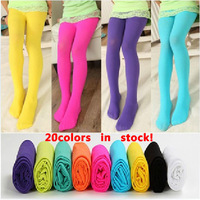 Lowest price ! new 2013 summer fashion baby girl velvet  legging kids candy color dance leggings girls pantyhose dress 50pcs/lot