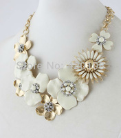 2013 new SD flower necklace/s.dot luxury jewelry hot sell free shipping