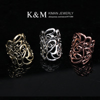 K&amp;M---Fashionable dazzling luxurious Elastic ring RI-02012 FREE SHIPPING