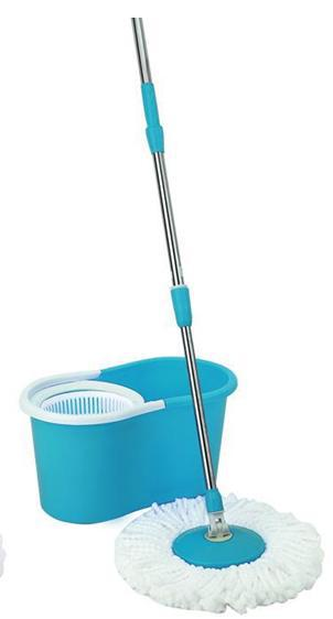 hot sales! Easy Life Hurricane Magic Rotate Spin Mop 360 Bucket 2 Heads As seen on tv!(China (Mainland))