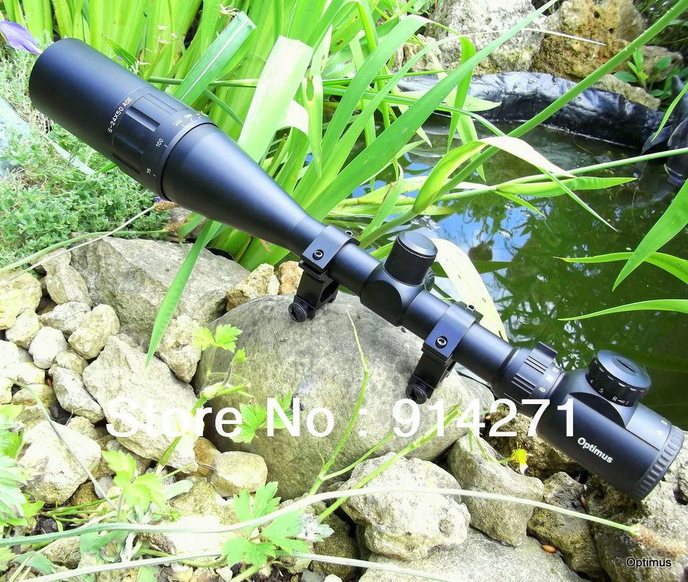 O envio gratuito de alta ampliar multiplicando poder tactical caça night vision riflescope com dois montagem tecelão e lente de vidro revestido(China (Mainland))