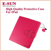 For ipad 4 for ipad for ipad 3 2 protective case genuine leather quality holsteins shell belt for apple commercial