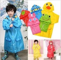 Linda raincoat cartoon animal style child raincoat child poncho baby raincoat children raincoat free shipping